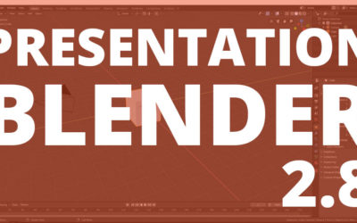 Blender 2.80 Le logiciel libre et gratuit de modélisation 3D a de quoi en surprendre plus d'un !